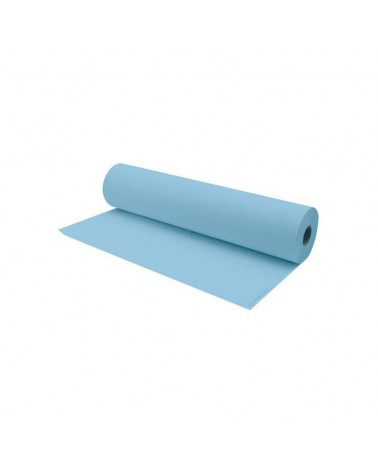 Rollo papel camilla azul 70 mts