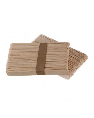 Espátulas de madera desechables 100 unidades.